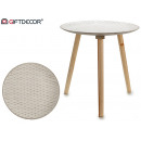round white round table rhombuses