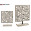 wholesale Home & Living: square wooden stand mandala