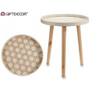 round round table with large edge
