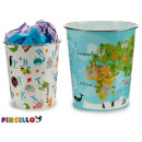 plastic animal bin, 2 times assorted