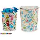 plastic school bin, 2 times assorted