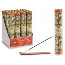 set of 30 tropcal incense sticks c holder