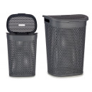 wholesale Household & Kitchen: laundry basket with lid 60l anthracite