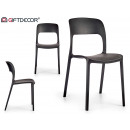 black fixa chair