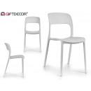 white fixa chair