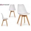 białe krzesło berta