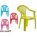 Großhandel Geschenkartikel & Papeterie: Kinderstuhl aus Kunststoff farben 4 fach sortiert