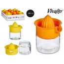 glass juicer 480ml, 2 colors times assorted