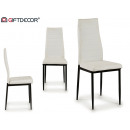 cathy fehér műbőr szék