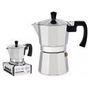 wholesale Coffee & Espresso Machines: aluminum coffee pot 3 cups reinforced handle
