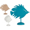 decoration polyresin fish, colors 3 times assorted