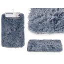 ingrosso Bagno: Tappetino antiscivolo in pile grigio 40x60