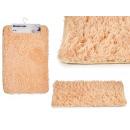 groothandel Bad- & handdoeken: antislip mat lichtbeige 40x60