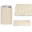 groothandel Bad- & handdoeken: anti-slip mat wit haar 50x80
