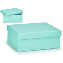 medium pastel blue cardboard box