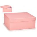 nagyker Ajándékok és papíráruk: nagy pasztell rózsaszín kartondobozban