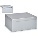 silver cardboard box xl