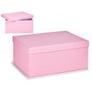 scatola di cartone lilla pastello xl