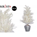 medium white christmas tree