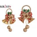 golden bells christmas ornament