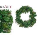 green wreath christmas decoration 60cm
