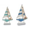 barca a vela in legno barca piccola stella 2col as