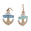 anchor hanger, colors 2 times assorted
