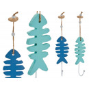 fish hanger, colors 2 times assorted