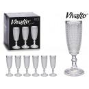 wholesale Food & Beverage: transparent cava points glass