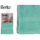 Handtuch glatt 30x50 türkis