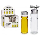 wholesale Food & Beverage: glass oil can with metal stopper