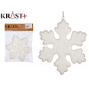 wholesale Other: Christmas decorative snowflake 15cm