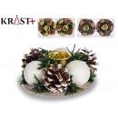 Christmas decorative pineapple candle holder 19cm