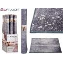 groothandel Tapijt en vloerbedekking: grijs tapijt 100x150cm met zilvervlekken