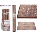tappeto marrone 100x150cm con macchie do