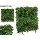 vertikaler Garten 100x100 cm dunkelgrün