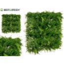 vertical garden 100x100 cm long leaf