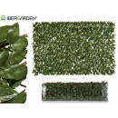 vertikaler Gartenzaun 100x200 cm grün oder