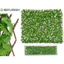 clôture de jardin verticale 100x200 cm vert c