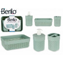 wholesale Bath Furniture & Accessories: set of 3 pieces green bathroom plastic stick