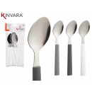wholesale Cutlery: set of 6 teaspoons, colors 3 times s