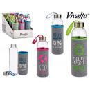 recykling szklanej butelki neoprenowej, 3 razy mie