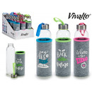 wholesale Lunchboxes & Water Bottles: neoprene travel glass bottle, 3 times assorted