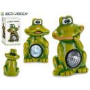 grenouille solaire lanterne assorti 2 modèles