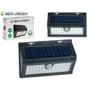 mayorista Jardin y Bricolage: lampara solar detector rectangular