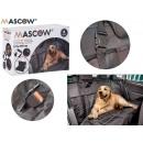 Sitzbezüge Stoff für Haustiere schwarz