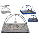 cat crib with ball, 2 times assorted