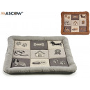wholesale Children's Furniture: embroidered rectangular pet cot 2 colors mix