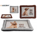 wholesale Children's Furniture: pet cot rectangular dogs 2 colors mix