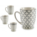 gray porcelain cup, 4 times assorted Models